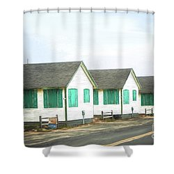 Closed For The Season #2 Shower Curtain