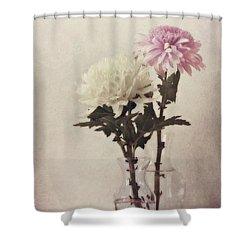 Closely Shower Curtain by Priska Wettstein