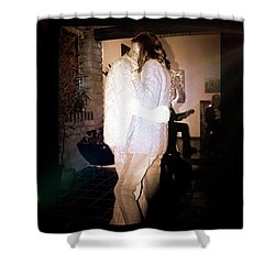 Shower Curtain featuring the photograph Closeness by Al Bourassa