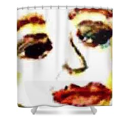 Closer Look Shower Curtain