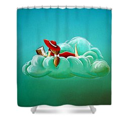 Cloud 9 Shower Curtain by Cindy Thornton
