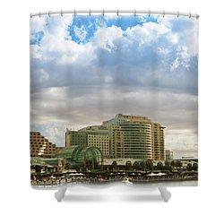 Cloud Blanket  Shower Curtain by Douglas Barnard