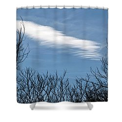 Cloud Chasing - Shower Curtain