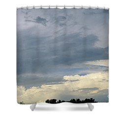Cloud Cover Shower Curtain by Erin Paul Donovan