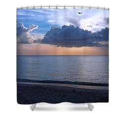 Cloud Creatures At Delnor Wiggins Pass State Park Shower Curtain