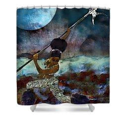Cloud Dancer A Capella Shower Curtain by Iowan Stone-Flowers