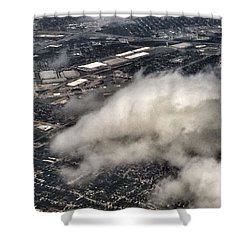 Cloud Dragon Shower Curtain