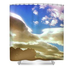 Cloud Drama Over Sangre De Cristos Shower Curtain