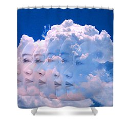Cloud Dream Shower Curtain by Matthew Lacey