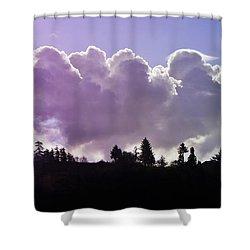 Cloud Express Shower Curtain