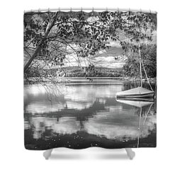 Shower Curtain featuring the photograph Cloud Float by Betsy Zimmerli