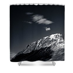 Cloud Formation Shower Curtain by Dave Bowman