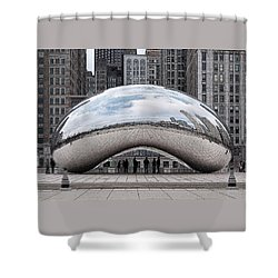 Cloud Gate Shower Curtain