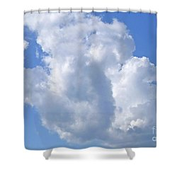 Shower Curtain featuring the photograph Cloud M1 by Francesca Mackenney