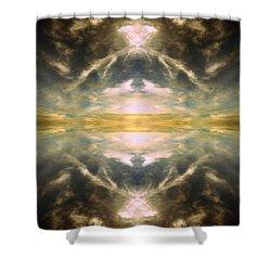 Cloud No.3 Shower Curtain
