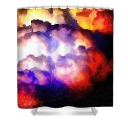 Cloud Sculpting 1 Shower Curtain