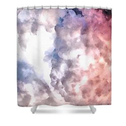 Cloud Sculpting 3 Shower Curtain