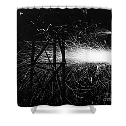 Shower Curtain featuring the photograph Cloud Seeding, 1948 by Granger
