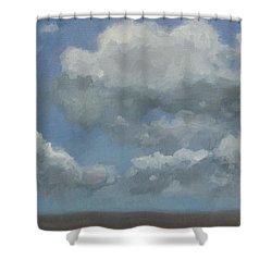 Cloud Study #3 Shower Curtain