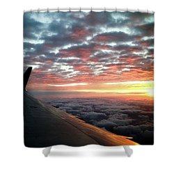 Cloud Sunrise Shower Curtain