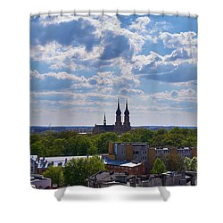 Cloud Ticklers Shower Curtain