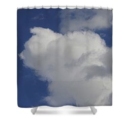 Shower Curtain featuring the photograph Cloud Trol by James McAdams
