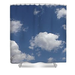 Cloudbank 3 Shower Curtain by Don Koester