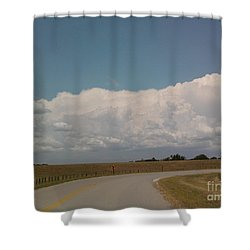 Cloudbank Shower Curtain by Susan Williams