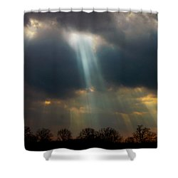 Cloudbreak Shower Curtain