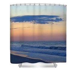 Clouded Pre Sunrise Shower Curtain