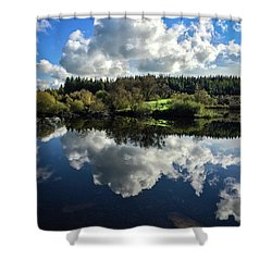 Clouded Visions Shower Curtain