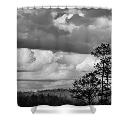 Clouds 2 Shower Curtain