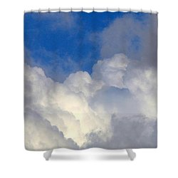 Clouds After The Rain Shower Curtain