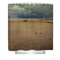 Clouds And Sand Shower Curtain