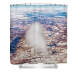 Clouds And Shadows Shower Curtain