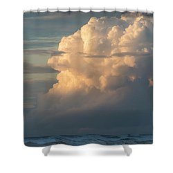 Clouds And Surf Shower Curtain