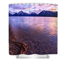 Clouds And Wind Shower Curtain by Chad Dutson
