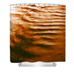 Ripples In The Sky Shower Curtain