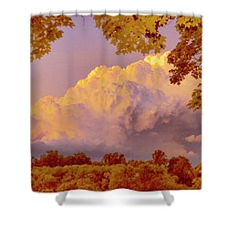Clouds At Sunset, Southeastern Pennsylvania Shower Curtain