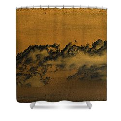 Shower Curtain featuring the photograph Clouds by Chris Armytage