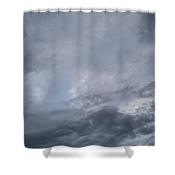 Shower Curtain featuring the photograph Clouds by Megan Dirsa-DuBois