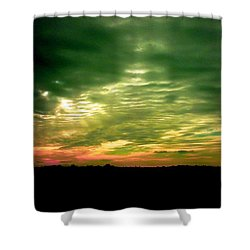 Clouds Over Ireland Shower Curtain