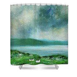 Clouds Over Malin Head, Donegal Shower Curtain