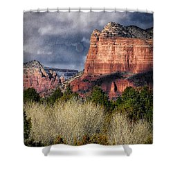 Clouds Over Sedona Shower Curtain