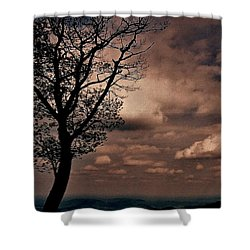 Clouds Over Shenandoah Shower Curtain