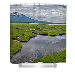 Clouds Over Sparks Shower Curtain