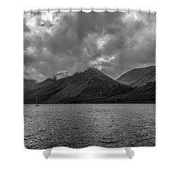 Clouds Over Loch Lochy, Scotland Shower Curtain