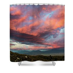 Clouds Over Warner Springs Shower Curtain