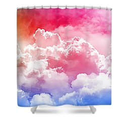 Clouds Rainbow - Nuvole Arcobaleno Shower Curtain