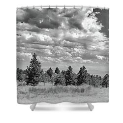 Clouds Roll In Shower Curtain